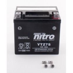 Batterie NITRO pour moto YTZ7S