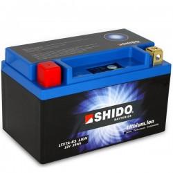 Batterie Lithium Ion SHIDO pour moto LTX7A-BS