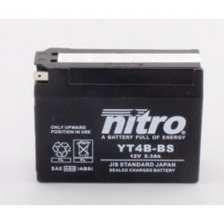Batterie NITRO pour moto YT4B-BS