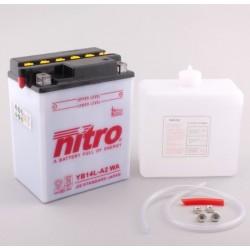 Batterie NITRO pour moto YB14L-A2 WA