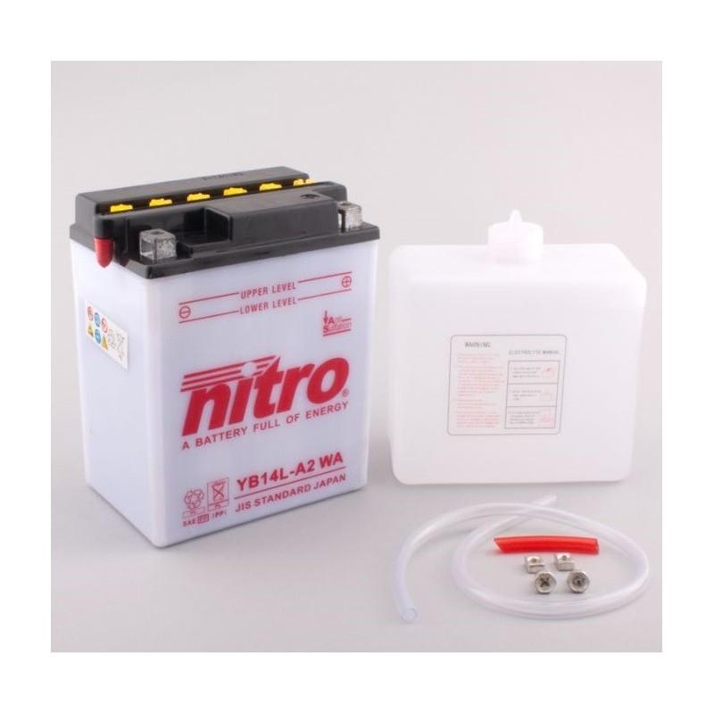 NITRO YB14L-A2 ouvert avec pack acide