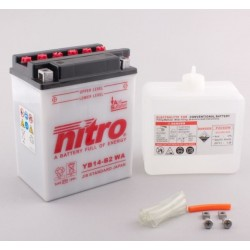 NITRO YB14-B2 ouvert avec pack acide