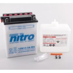 NITRO 12N14-3A ouvert avec pack acide