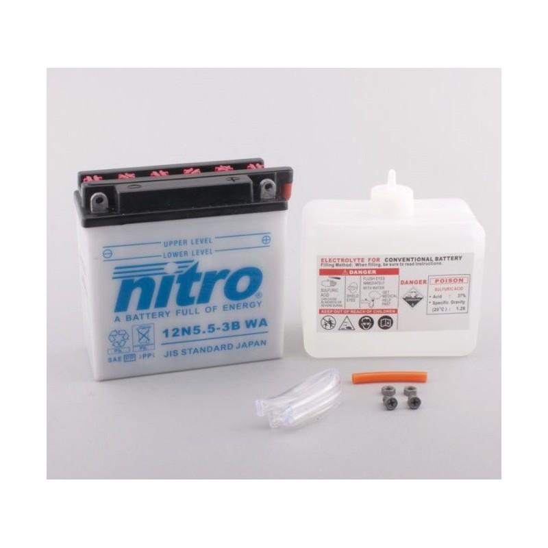 NITRO 12N5.5-3B ouvert avec pack acide