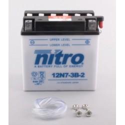 Batterie NITRO pour moto 12N7-3B-2