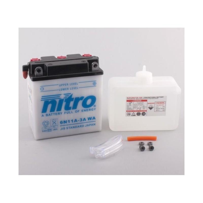 NITRO 6N11A-3A ouvert avec pack acide