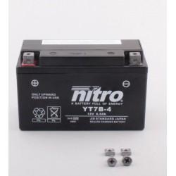 Batterie NITRO pour moto YT7B-4