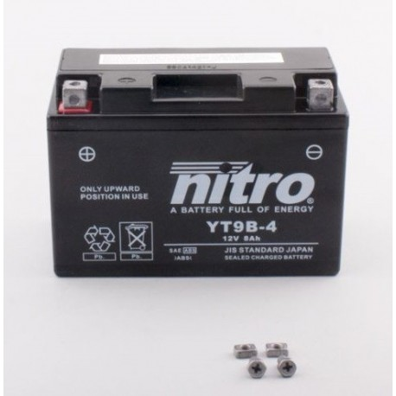 NITRO YT9B-4 AGM ferme