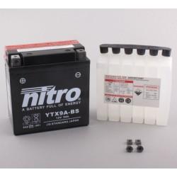 NITRO YTX9A-BS AGM ouvert avec pack acide