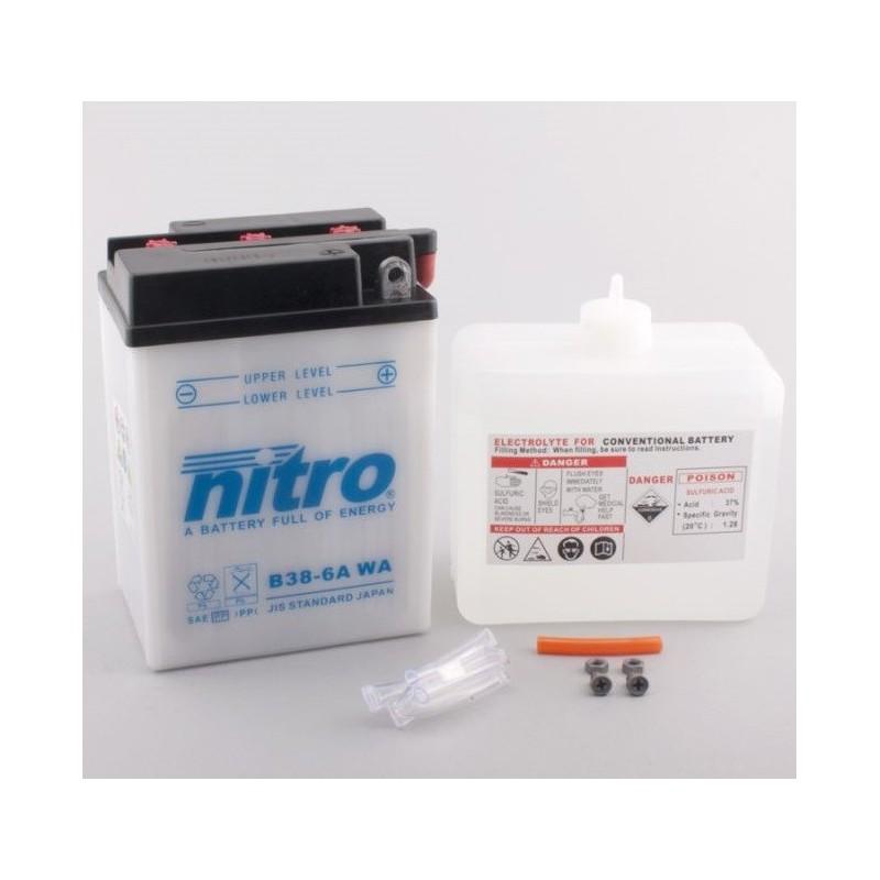 NITRO B38-6A ouvert avec pack acide