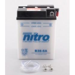 Batterie NITRO pour moto B38-6A