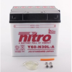 Batterie NITRO pour moto Y60-N30L-A