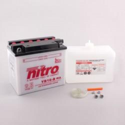 Batterie NITRO pour moto YB16-B WA