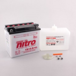 NITRO YB16-B ouvert avec pack acide