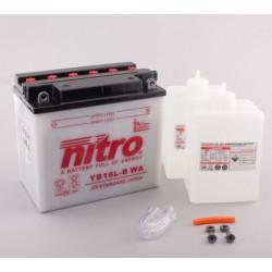 NITRO YB16L-B ouvert avec pack acide