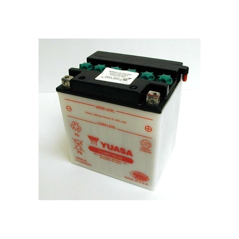 Batterie YUASA pour moto YB30L-B