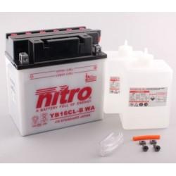 Batterie NITRO pour moto YB16CL-B WA