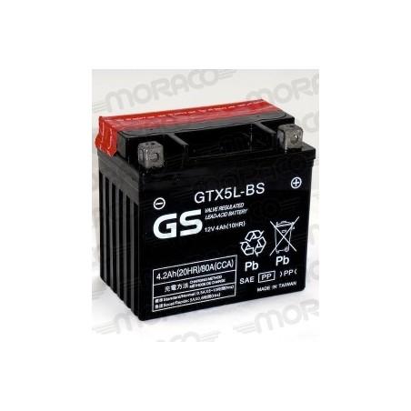 Batterie Moto GS GTX5L-BS