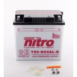 Batterie NITRO pour moto Y60-N24AL-B