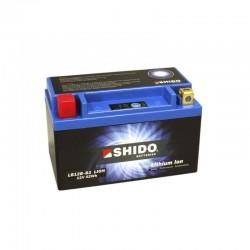 Batterie Lithium Ion SHIDO pour moto LB12B-B2