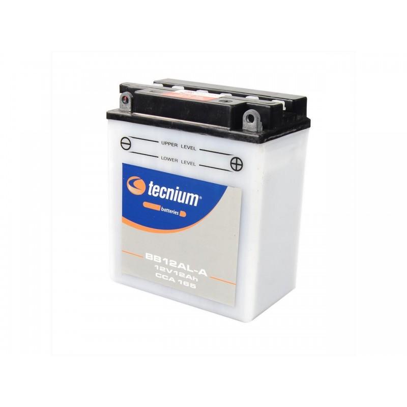 Batterie TECNIUM pour moto BB12AL-A YB12AL-A