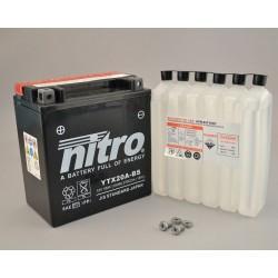 NITRO YTX20A-BS AGM ouvert avec pack acide