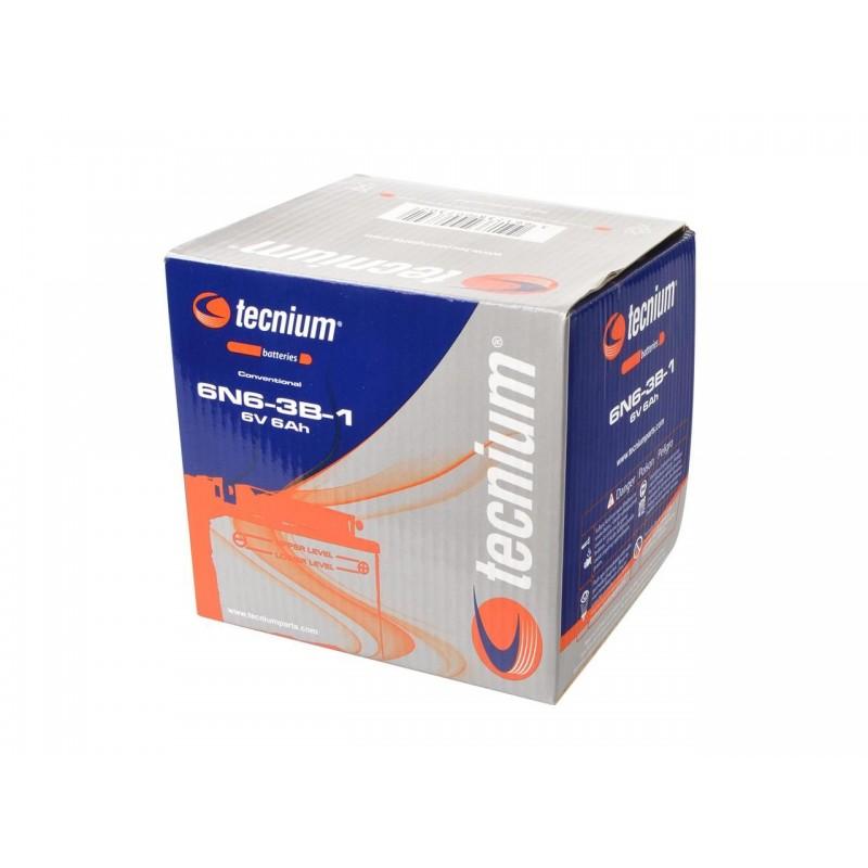 Batterie TECNIUM pour moto 6N6-3B1