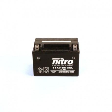 NITRO YTX9-BS AGM Close au GEL