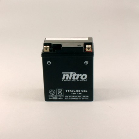 Batterie NITRO YTX7L-BS GEL