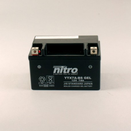 Batterie NITRO YTX7A-BS GEL
