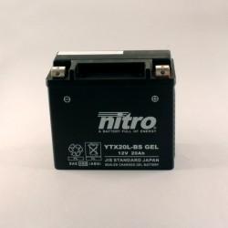 Batterie NITRO YTX20L-BS GEL