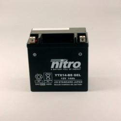 Batterie NITRO YTX14-BS GEL