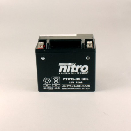 Batterie NITRO YTX12-BS GEL