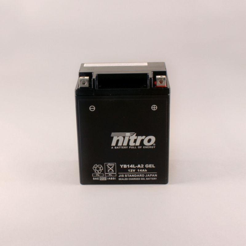 Batterie NITRO YB14L-A2 GEL