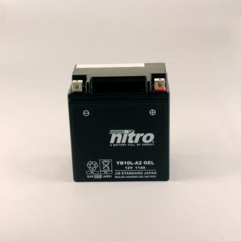Batterie NITRO YB10L-A2 GEL