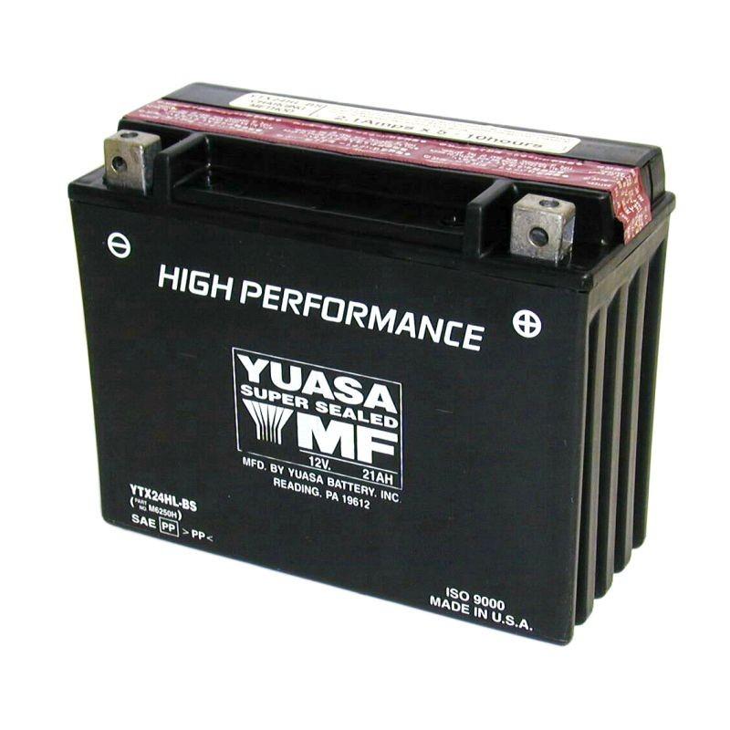 Batterie YUASA pour moto YTX24HL-BS