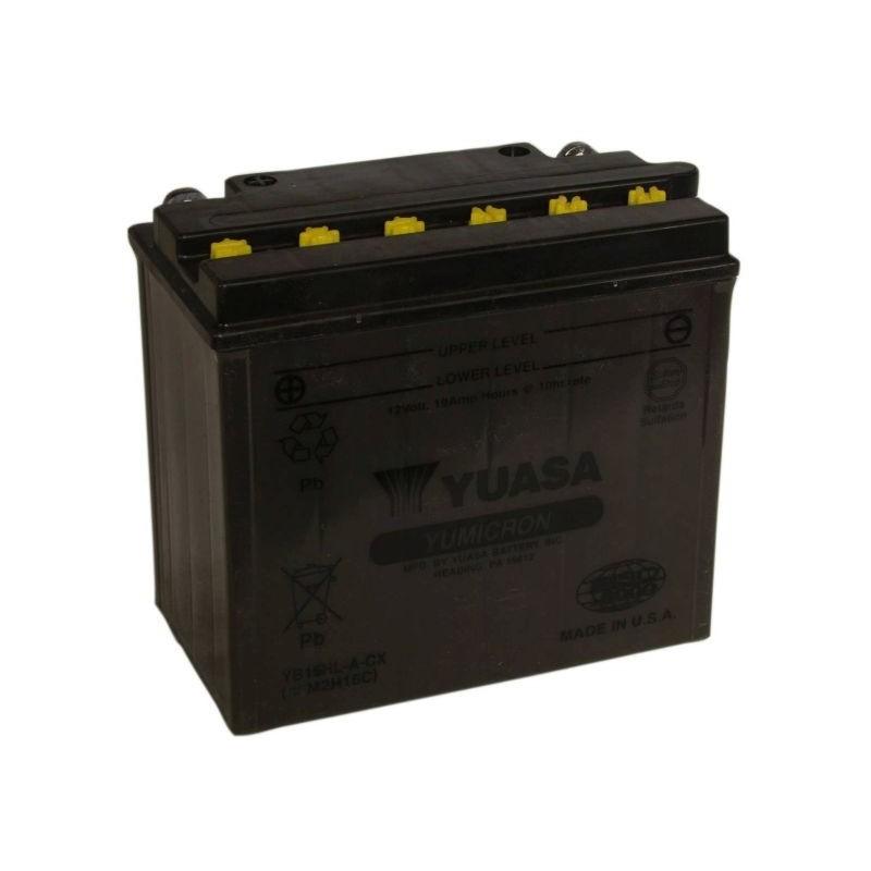 Batterie YUASA pour moto YB16HL-A-CX