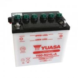 Batterie YUASA pour moto Y60-N24L-A