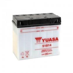 Batterie YUASA pour moto 51814