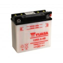 Batterie YUASA pour moto 12N5.5-4B