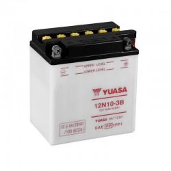 Batterie YUASA pour moto 12N10-3B