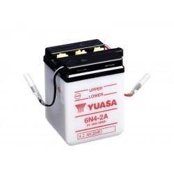 Batterie YUASA pour moto 6N4-2A