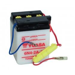 Batterie YUASA pour moto 6N4-2A-7