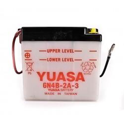 Batterie YUASA pour moto 6N4B-2A-3