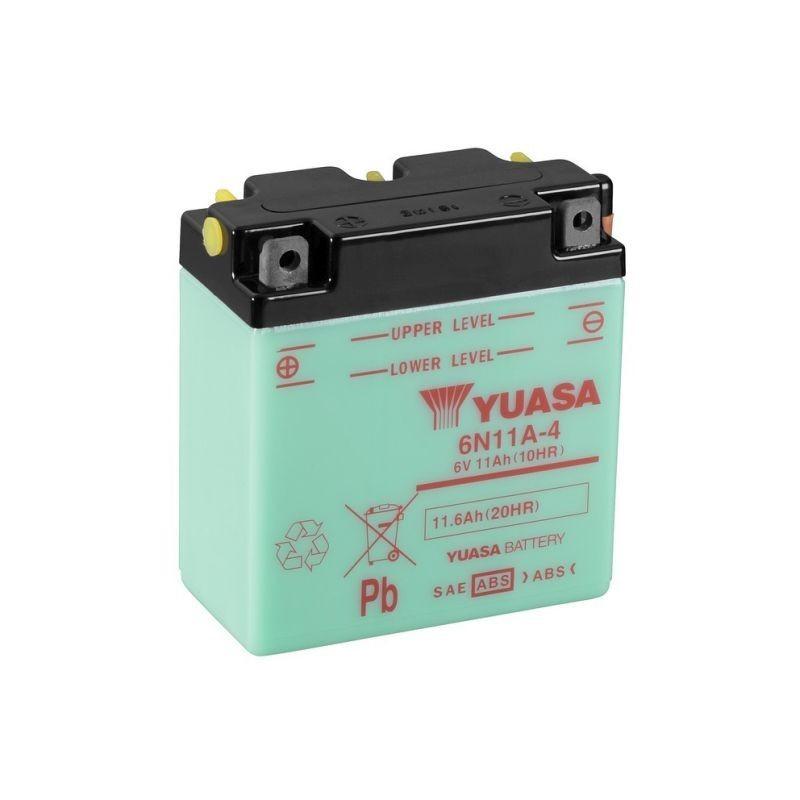 Batterie YUASA pour moto 6N11A-4