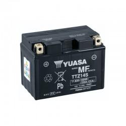Batterie YUASA pour moto YUASA TTZ14S-BS AGM ouvert avec pack acide