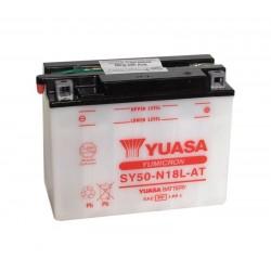 Batterie YUASA pour moto YUASA SY50-N18L-AT