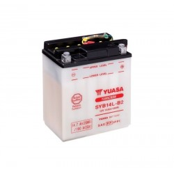 Batterie YUASA pour moto YUASA SYB14L-B2