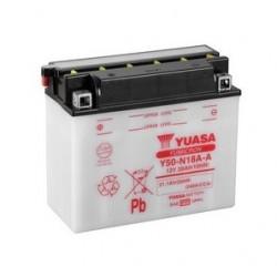 Batterie YUASA pour moto YUASA Y50-N18A-A