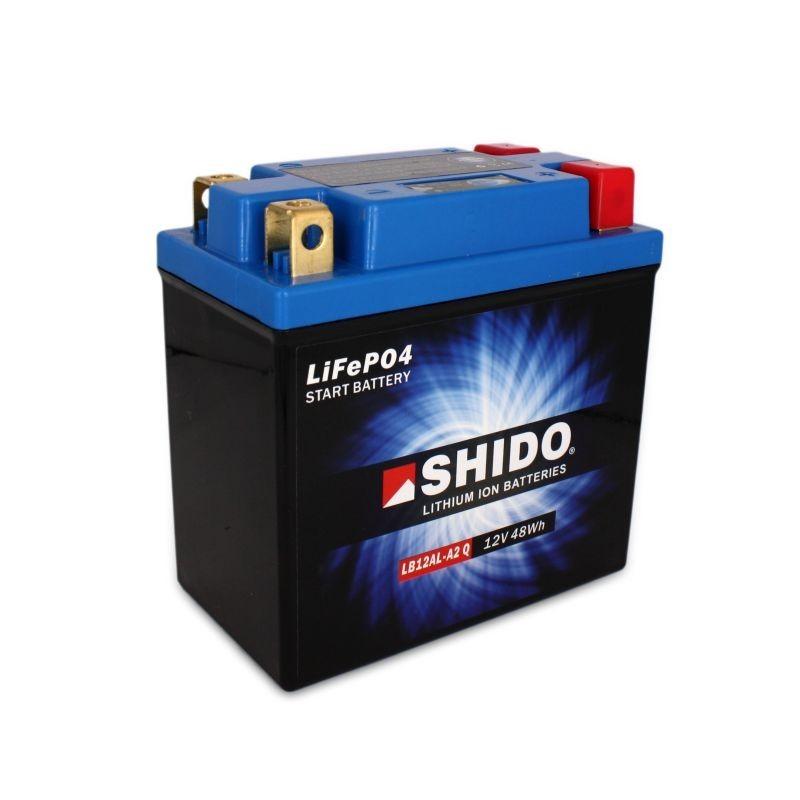 Batterie Lithium Ion SHIDO LB12AL-A2 Lithium Ion 4 bornes